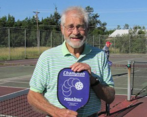 Dwight McConnell the 82 year old beginner to pickleball