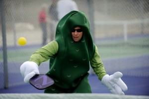 Pickleball pickle costume