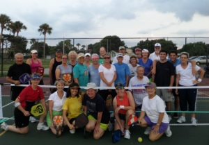 Pickleball by the Sea