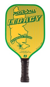 Jessica LeMire's favorite paddle is the Legacy Pickleball Paddle.