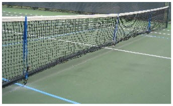 How to Adjust a Tennis Net to Regulation Pickleball Height