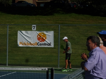 PickleballCentral on the courts