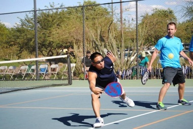 Steve Wong at 2014 Pickleball Nationals in Buckeye, Arizona