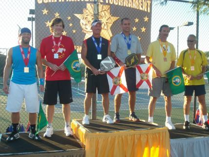Billy Jacobsen at 2012 Nationals Pickleball Tournament
