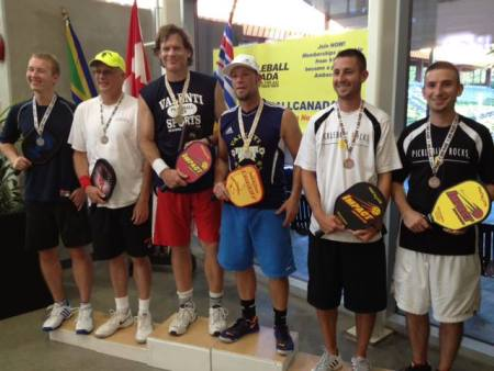 Billy Jacobsen at Canadian National Pickleball Championship