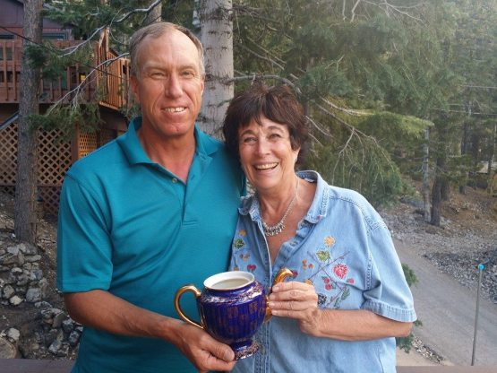 Chris and newcomer Liz won the pot in September 2014