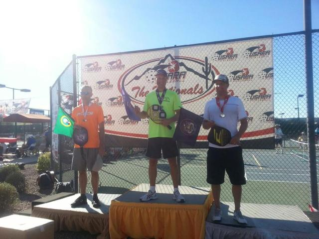 2014 USAPA Nationals VI - Dave Weinbach, Tom Tueller and Don Paschal