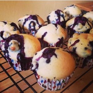 Delicious low-fat muffins