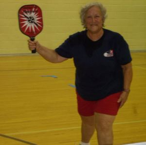 Marie Terry, 50th State Pickleball Ambassador