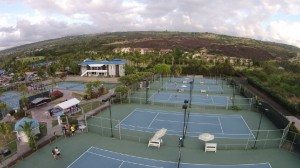 Pickleball courts in Hawaii