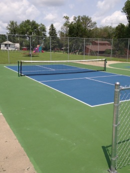 "Pickleball court ""after""!"