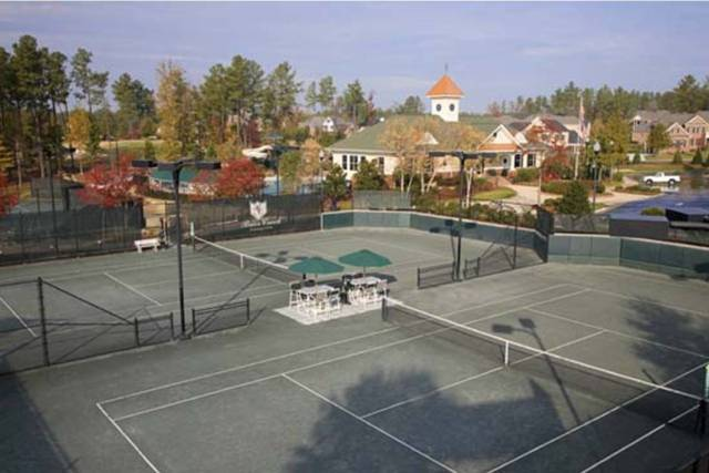 Brier Creek Country Club pickleball courts