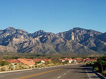 Catalina Mountains, near Tucson AZ