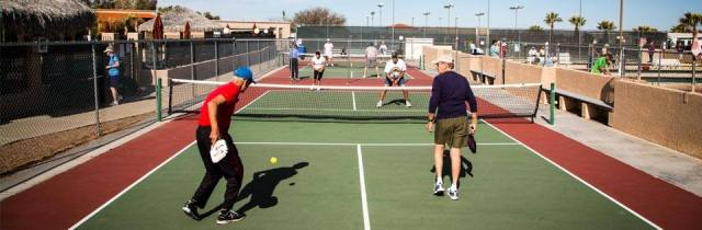 Voyager RV Resort Pickleball Tucson