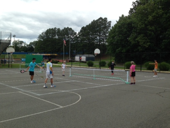 2015 World Police and Fire Games pickleball players