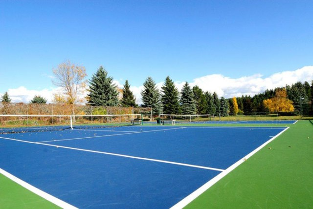 Montana Athletic Club pickleball court