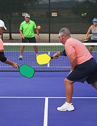 Pickleball at The Village at Towne Lake - Earley Court