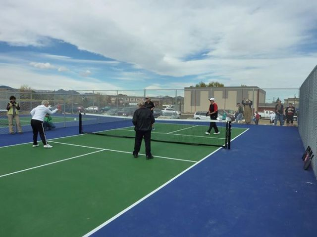 Pickleball Ken gathering