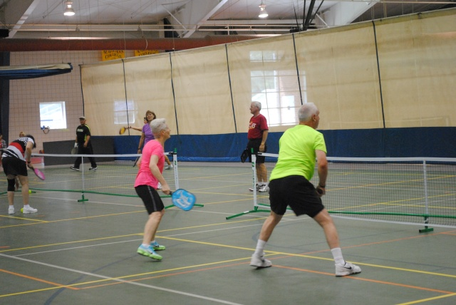 QCSenior Olympics pickleball