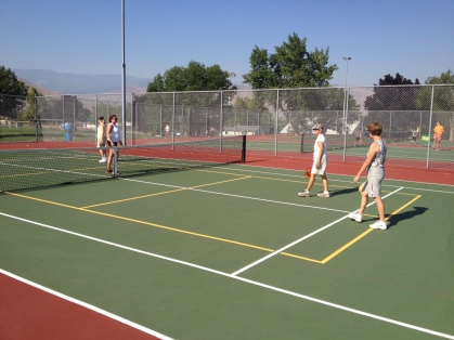 Wenatchee Valley pickleball players