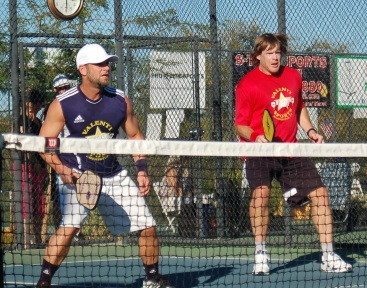 Chris Miller and Billy Jacobsen - Pickleball Pros