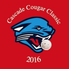 Cascade cougar tournament logo
