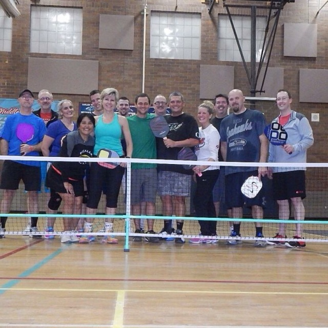 Daniel Moore visits Columbia River Pickleball Club