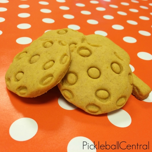 Stack of Pickleball Cookies