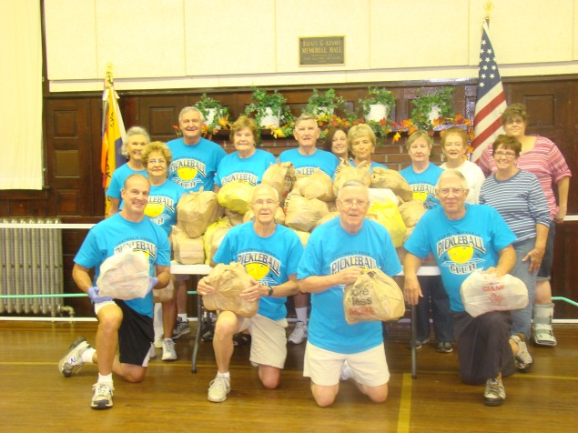 Central's Angels Pickleball Club