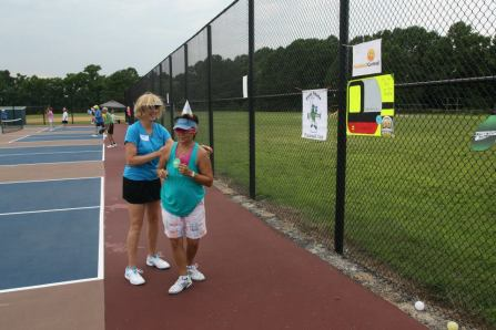 Pickleball and friends