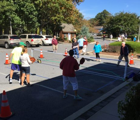 Pickleball exhibition at Rehoboth Beach Museum