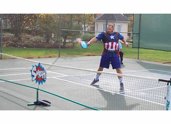 Captain America Pickleball Oyster Bay Tournament