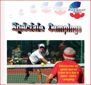 Pickleball Camping in France