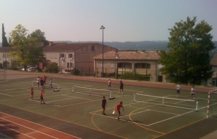 Pickleball in South France