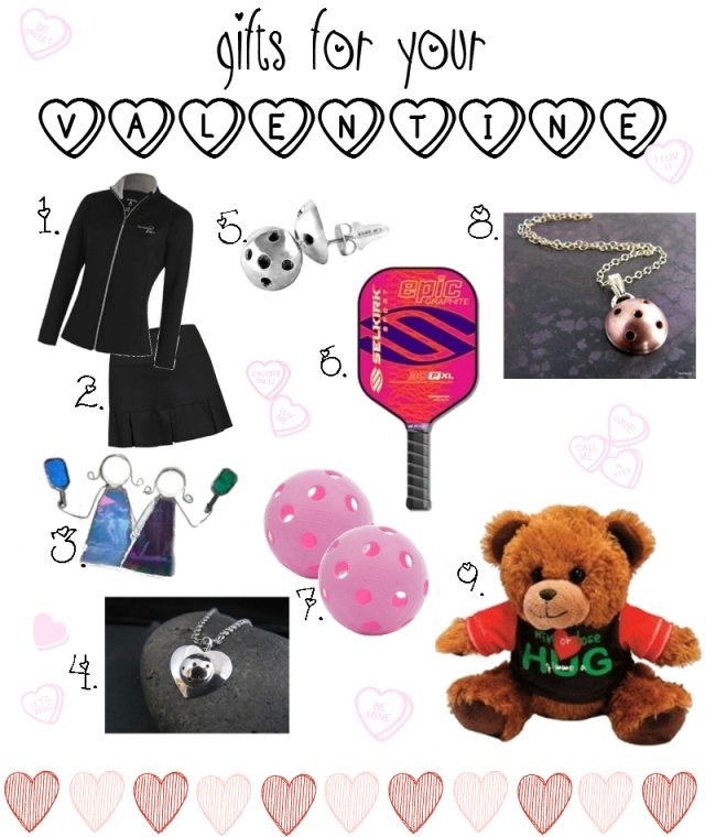 Pickleball Gifts Valentine's Day