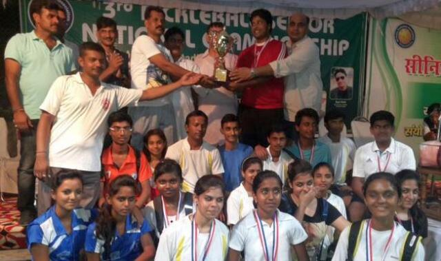 Participants in the 3rd National Pickleball Tournament in India