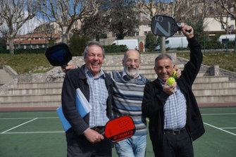 Pickleball France President, Secretary and Treasurer