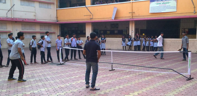 Pickleball demo in Vile Parle, Mumbai