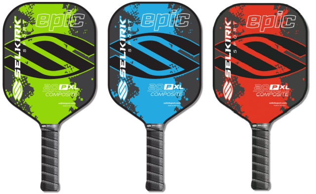 The 20P-XL Epic in lime, cyan and red.