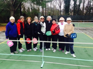 Cantron Pickleball Buddies in the Tennessee Winter