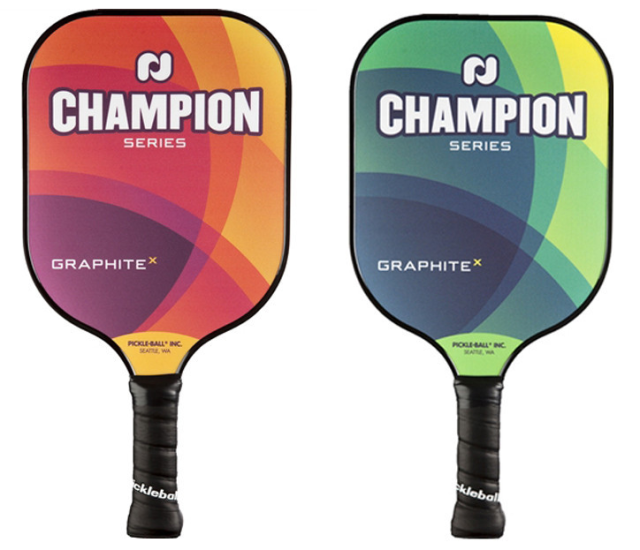 The Champion Graphite X in sunrise and midnight.