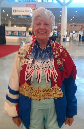 2013 National Senior Games Medals