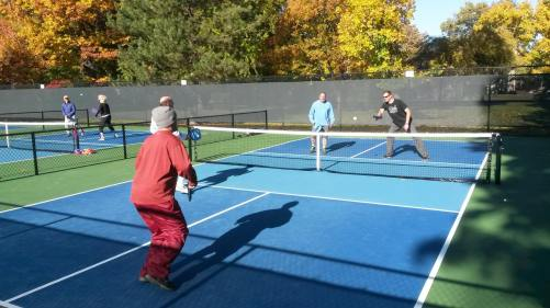Fall Pickleball at Pioneer Park