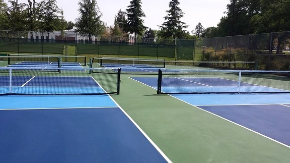Auburn Ca pickleball new courts