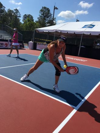 Laura Fenton Kovanda at the U. S. Open