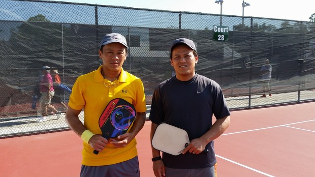 Tao and Tree U S Open. They took Silver in Men's Doubles.