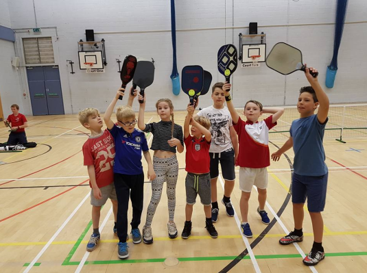 GB Pickleball introducing the sport to a younger crowd