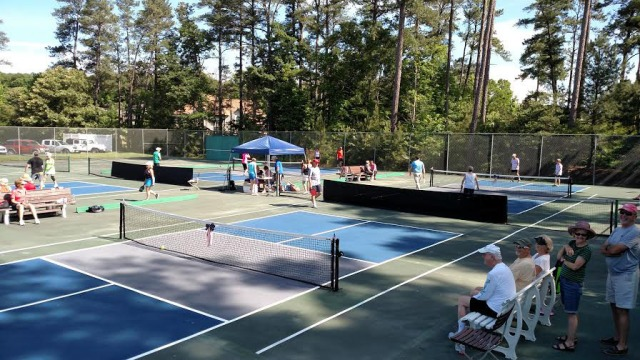 And the lovely Oyster Bay courts after!