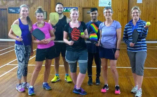 Pickleball in Wellington