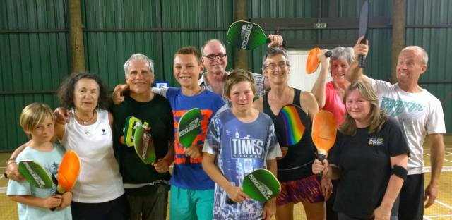 Players at Rotorua Pickleball Club